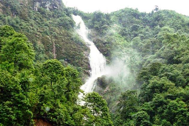Majestic Silver Waterfall in Sapa, Vietnam Trip
