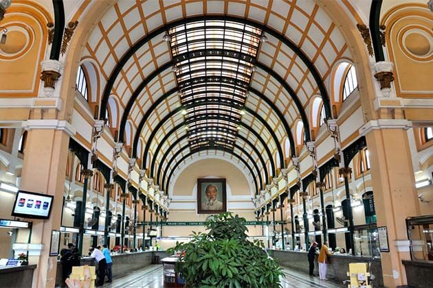 Sai Gon Post Office, Tour to Vietnam Cambodia
