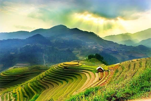 "<h2><span style=""color: #993300;""> Top 10 Vietnam Adventure Destinations Worth to Go </span></h2> Vietnam is one of the most suitable choice for those who love interesting adventure destinations. Each destination offers unique features that are sure to bring an unforgettable experience of Vietnamese landscapes and cultures. Escape from bustling cities to reach accessible outdoor destinations! Here is the list for outdoor lovers, from the mountains in Sapa to the small towns of the Mekong Delta. Your Vietnam Tour Vacations would be incomplete without a day trip along the picturesque mountain roads on a motorbike, or an escape with rural adventures. So, escape from the town and explore the small world! <h3><span style=""color: #808000;"">1. Sapa</span></h3> Sapa is a world-famous mountain town located in Lao Cai province in northwestern Vietnam. Sapa is famous for its endless terraced fields, walking trails with picturesque views and bustling ethnic towns with crowded markets. If you are looking for a way to escape from the metropolian scene of Hanoi and want to explore the daily lives of many ethnic groups, Sapa is the stopover in your journey in Vietnam. <h3><span style=""color: #808000;"">2. Ha Giang</span></h3> From September to December each year, Vietnamese people and tourists flock to Ha Giang province to witness the fields of buckwheat flowers in full bloom. Located in northern Vietnam, the highland of Ha Giang is not only known for its breathtaking scenery but also for the adventure of seeking after it. The winding upland challenges the most experienced drivers, and for motorcyclists, they create exciting racing tracks. <h3><span style=""color: #808000;"">3. Ancient Hoa Lu</span></h3> Located in Ninh Binh, Hoa Lu used to be the ancient capital of Vietnam under the Dinh dynasty (968 - 980). This destination is still ancient architecture during the Vietnamese feudal period, marking an important period of Vietnamese history. Hoa Lu is located on a rugged mountain region, surrounded by majestic limestone mountains. Besides, you can also join boating tours to discover the wild beauty of Ninh Binh. From the ancient town of Hoa Lu, visitors can visit Tam Coc - Bich Dong by boating across the Ngo Dong River or Thung Chim - the habitat of many rare and precious birds of Vietnam. <h3><span style=""color: #808000;"">4. Cuc Phuong National Park</span></h3> Located in Southern Vietnam, Cuc Phuong National Park is truly a great place for you to stay after the modern life in the present time. Walking through the park's jungle, you can feel the misty atmosphere of a tropical forest in South Asia with stunning views. The highlight of this destination is the millennial tree, listed on the oldest trees in Vietnam. There is a center to save turtles and prey on the national park and you can take care of those animals if you receive assistance from the center. Cuc Phuong National Park is an attractive destination for those who love trekking or Vietnam nature tours. <h3><span style=""color: #808000;"">5. Phong Nha - Ke Bang Park</span></h3> Phong Nha - Ke Bang National Park is one of the best destinations for adventure tours in Vienam. Along with the beautiful view of the jungle, the most noticeable thing in the park is probably the trip to explore the world of cave kingdom. There are many spectacular caves in the park, listed as impressive caves in the world like Son Doong cave. This is the largest cave in the world so far with a length of 5 km. Here is really an ideal suggestion for those who love adenture tour to explore the hidden treasure in the biggest cave in the world. <h3><span style=""color: #808000;"">6. Phu Yen</span></h3> Like other regions in the South Central Coast region of Vietnam, Phu Yen province has the most spectacular beaches and unique coastal landscapes. Its most famous feature is Ganh Da Dia, a scenic spot with layers on layers of stones. Known as the windiest province in Vietnam, with a speciallocation between two mountain ranges, the coastal meadows of Phu Yen Canh have emerged as one of the most popular tourist attractions in Vietnam after they became the main backdrop for a local blockbuster (Toi Thay Hoa Vang Tren Co Xanh) that most local family is familiar with. <h3><span style=""color: #808000;"">7. Da Lat</span></h3> Dalat is the capital of Lam Dong province in the Central Highlands of Vietnam and it is considered the most romantic and mysterious city in Vietnam. Tourists come to Dalat for the romantic flower fields, colonial villas and most importantly, its temperate climate. Others, however, seek adventures during haunted trips to haunted hotspots and exotic sites like the Black and Red Hotel or the Crazy House. Here is also consider as a worthy place to visit for adventurous lover. <h3><span style=""color: #808000;"">8. Mui Ne</span></h3> Known as a family-friendly beach city in central Vietnam, besides beautiful beaches and spectacular seafood, Mui Ne is also home to the largest sand dunes in Vietnam. In fact, people don't go to the city so much because beaches like sandboarding, an activity in Vietnam just for Mui Ne. Wander around the sand dune area are local vendors offering bite-sized shrimp cakes served with caramelized fish sauce - a specialty that recreates weary travelers at the end of the exciting sandboarding sessions. Be sure to catch the sunset at the dunes! <h3><span style=""color: #808000;"">9. Cam Gio</span></h3> Beyond Ho Chi Minh City, there is a place cannot miss on the list Adventure Destination in Vietnam. Can Gio Monkey Island is bristling curious travelers who are ready targets of resident monkeys, which is known as the home of the monkey. By the direct interactions with these cheeky animals, visitors can also learn about their natural habitats, their species and how they are preserved in Vietnam. <h3><span style=""color: #808000;"">10. Mekong Delta Provinces</span></h3> The provinces in the Mekong Delta are increasingly popular as a destination for travelers seeking experience of garden lifestyle. It is ideal to travel on the motorbike along the rice fields and explore towns in provinces like Kien Giang, An Giang and Can Tho. And go to shopping on the floating markets, Khmer towns, or boat trips along the mangroves forests and enjoy special homemade meals with locals."