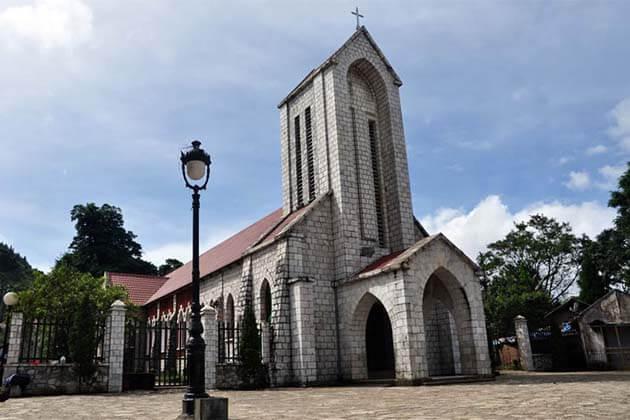 Sapa church, Vietnam Tours