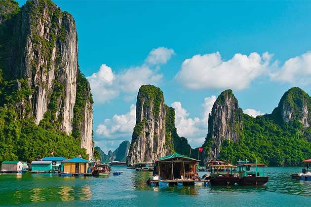The Paradise in Ha Long Bay, Vietnam Beach Travel